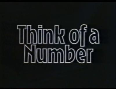 Think of a Number - Childrens TV | Jedi's Paradise
